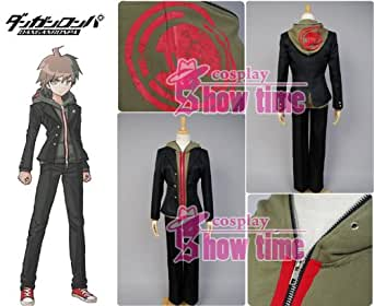 Dangan-Ronpa Makoto Naegi Cosplay Costume Male Size S