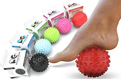 Physix Gear Sport Massage Balls - Best Spiky