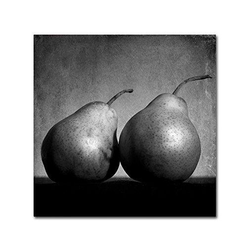 picture of Trademark Fine Art Coqueteo Peras by Moises Levy, 35x35-Inch