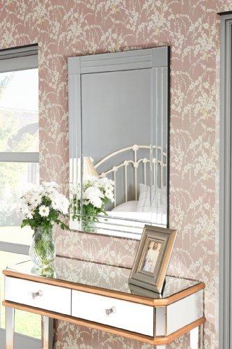 My-Furniture STREAM Specchio da parete grande (120 x 80 cm ...