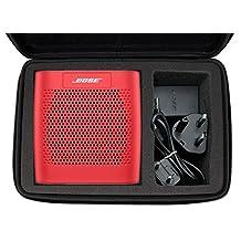 Black EVA Hard Carry Travel Shockproof Protective Case Skin Handle Bag For Bose Soundlink Color | Color II Bluetooth Mobile Wireless Speaker - by DURAGADGET