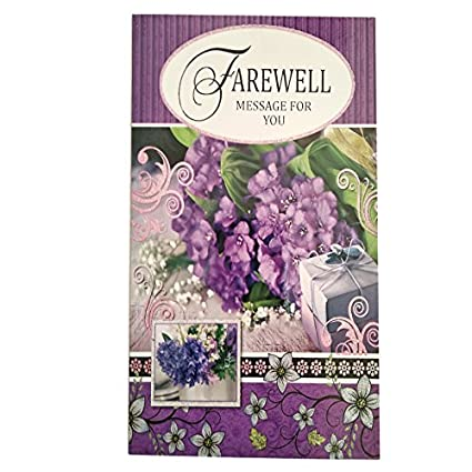 Greeting card for farewell amazon toys games greeting card for farewell m4hsunfo