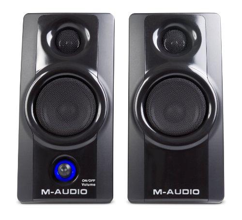 M-Audio Studiophile AV 20 Portable Desktop Speaker System