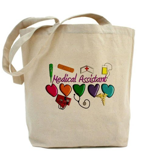 Cafepress Medical Assistant Tote bag – standard multi-color by Cafepress