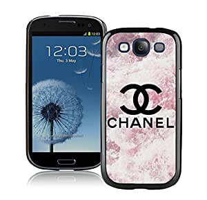 Fashion Custom Designed Phone Case For Samsung S3 I9300 Chanel Logo Cover Case 57 Black