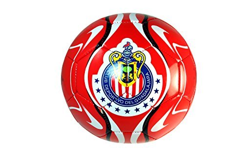 Chivas De Guadalajara Soccer Authentic Official Licensed Soccer Ball Size 4 -001 by RHINOXGROUP