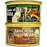 Taste of the Wild Cat Food Variety Pack (Rocky Mountain Feline with Salmon and Roasted