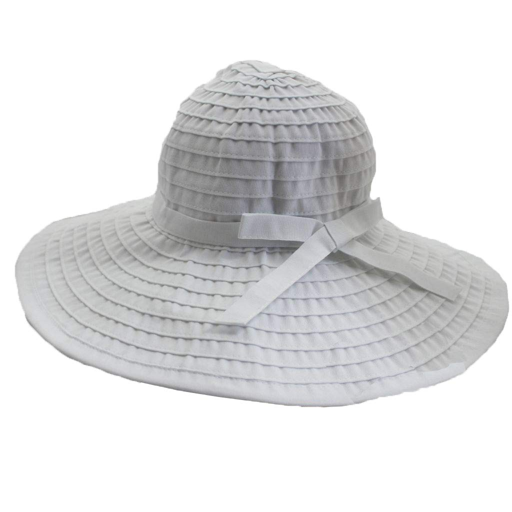 f7d0cfe2b5ea42 Women's Wide Brim Packable Sun Travel Hat for Large Heads - Ginger (XLarge,  Black) at Amazon Women's Clothing store: