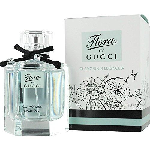 Gucci Flora Glamorous Magnolia Eau De Toilette Spray for Women, 1.6 Ounce