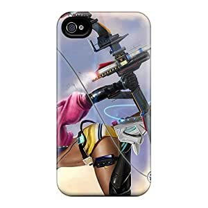 Tpu Fashionable Design Woman With Crossbow Rugged Case Cover For Iphone 4/4s New by Maris's Diary