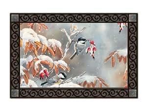 Winter Day Chickadees MatMate