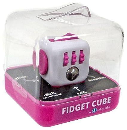 Amazon Fidget Cube Authentic Original Series 1 Pink White