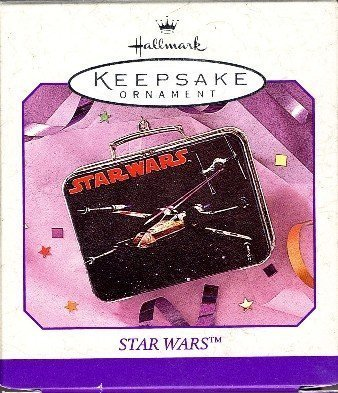 1998 Star Wars X-wing Lunch Box Hallmark Keepsake Ornament