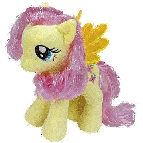 TY Beanie Babies - Fluttershy with Glitter Hair by TY Beanie Babies