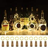 Best Universal Lighting and Decor String Lights - Wine Bottle Lights with Cork 12 Beads Aluan Review