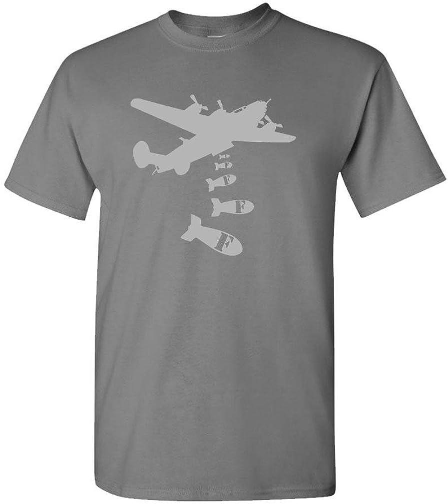 The Goozler Dropping F Bombs Mens Cotton T-Shirt Cussing Vulgar profane