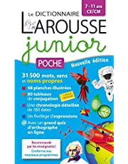 Dict. larousse junior poche -7/11 ans-le