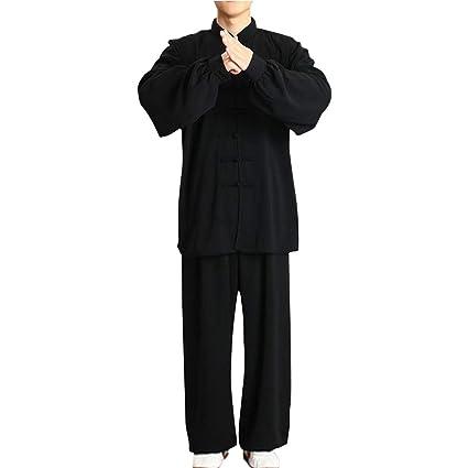 uirend Artes Marciales Ropa Unisex Adulto Conjuntos - Chino Tradicional Tai Chi Hombres Shaolin Kung Fu Ropa Mujeres Wing Chun Algodón Trajes ...