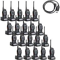 BaoFeng BF-888S 5W 400-470MHz 16-CH Handheld Walkie Talkies Black(Pack of 20)