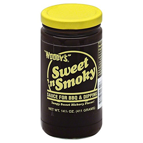 WOODY'S® Sweet 'n Smoky Sauce13oz (Pack of 2) by Woody's