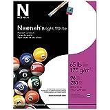 Neenah Premium Cardstock, 96 Brightness, 65 lb, Letter, Bright White, 250 Sheets per Pack (91904) 4-Pack