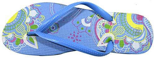 Mandala Beach Wear Summer Flip amp; Colours Various Flops Blue Collection Styles Light Design Ladies OCTAVE BwpnZxE