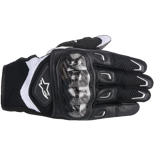 Alpinestars Stella SMX-2 Air Carbon Womens Gloves Black/White Small S 3517714-12-S
