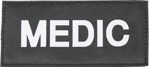 BLACKHAWK! Medic Patch - White/Black
