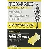 TBX-FREE Stop Smoking Oral Strip Aid 120 Strips (Classic)