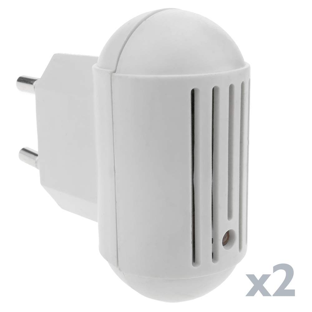 Mosquito Repeller universal plug type Kit of 2 units PrimeMatik