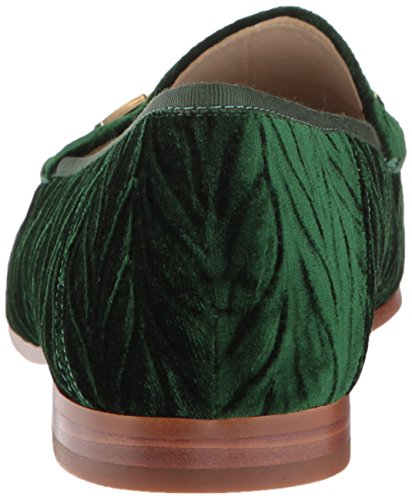 Loafer Velvet Women's Edelman Emerald Sam Loraine w7tPqn6