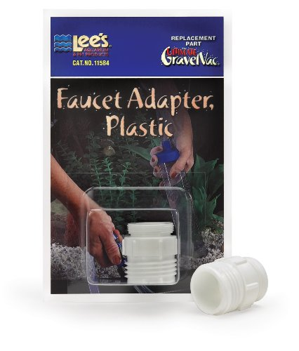 t Adapter, Plastic (Ultimate Gravel Vac Adapter)