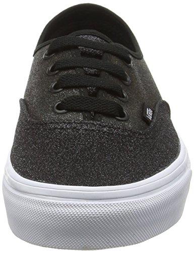 Vans Authentic, Zapatillas Unisex Adulto Negro (2 Tone Glitter silver/black)