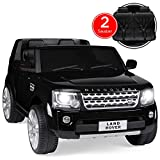 Best Choice Products Kids 12V Licensed Land Rover Ride On w/ RC, Lights/Sounds, MP3, Black