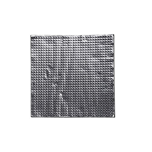 Farwind 200x200x10mm Foil Self-Adhesive Heat Insulation Cotton for 3D Printer Ender-3 Heated Bed