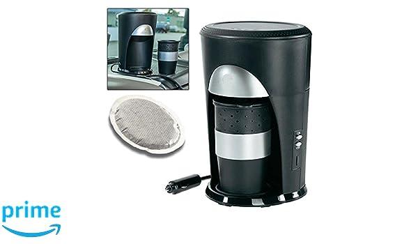 Cafetera monodosis de café de viaje de 12 V, para coche, camping ...