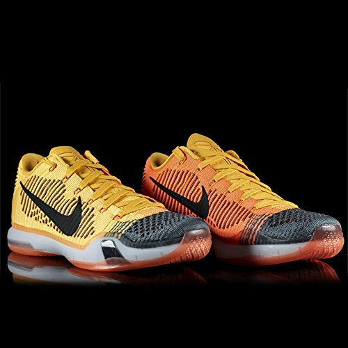 reputable site eb658 41716 Mens Nike Kobe X 10 Elite Low Rivalry Chester Total Orange Black Grey  747212-818 - Buy Online in UAE.   Apparel Products in the UAE - See Prices,  ...