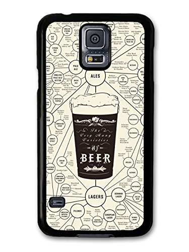Beer Diagram with Ales and Lagers Funny coque pour Samsung Galaxy S5