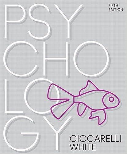 Psychology (5th Edition) by Saundra K. Ciccarelli (2016-10-14)