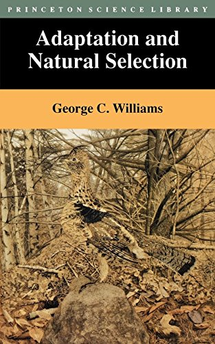 Descargar Libro Adaptation And Natural Selection: A Critique Of Some Current Evolutionary Thought George Christopher Williams