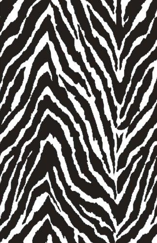 Zebra Journal - Bullet Journal: Zebra Animal Print Notebook Dotted Grid, (5.5 x 8.5)