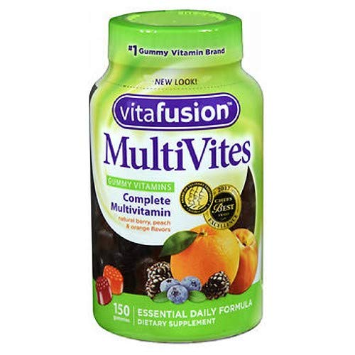 Vitafusion Adult Multi Gummy, Pack of 3, 150 count Each 450 gummies