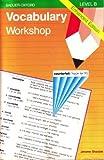 Vocabulary Workshop, Jerome Shostak, 0821506072
