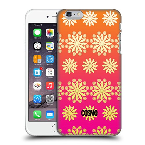 Official Cosmopolitan Ombre 5 Floral Patterns Hard Back Case for Apple iPhone 6 Plus / 6s Plus