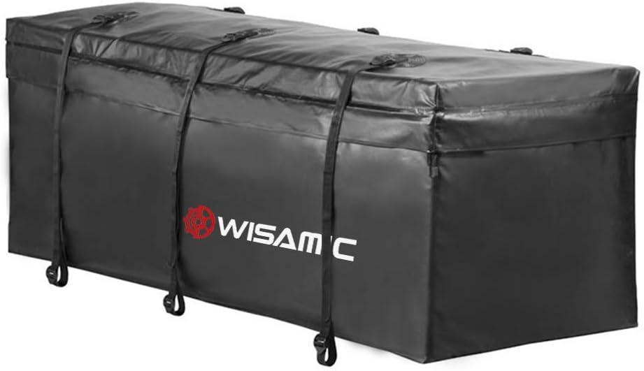 500 x 500 D PVC Tarpulin Wasserdicht Transporttasche 417 Liter WISAMIC Heckbox f/ür Anh/ängerkupplung Auto Hintere Erweiterbare Gep/äcktasche