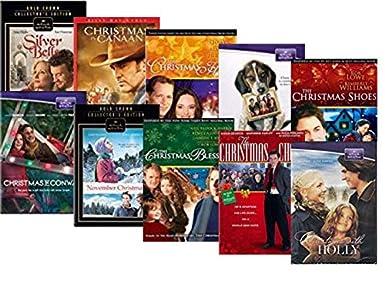 Amazoncom Hallmark Christmas Movies On Dvd 10 Film Set Silver