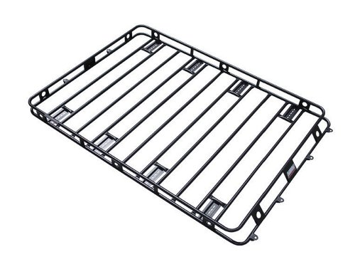 Smittybilt 50955AM Defender Roof Rack 5 ft. x 9.5 ft. x 4 in. Bolt Together Incl. AM Clamps/Brackets Defender Roof Rack by Smittybilt