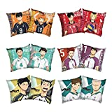Apehuyuan Anime Haikyuu Pillow Case,Double-Sided