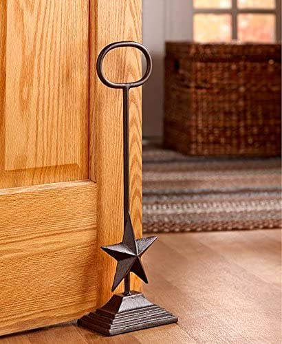 Cast Iron Star Country Door Stoppers