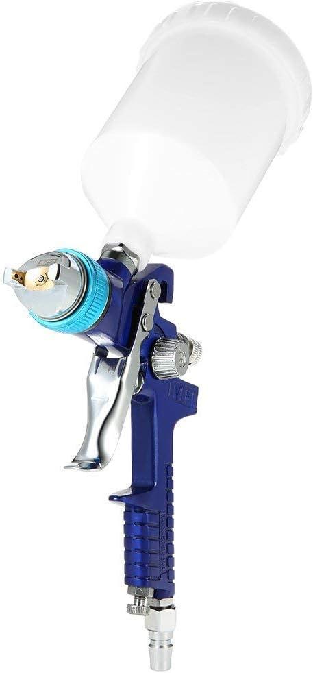 KKmoon LCD Digital Pistola eléctrica de aire caliente heissluftgebläse Juego de herramientas con 4 unidades Boquillas En Maletín, de 100 hasta 650 Celsius grados temperatura